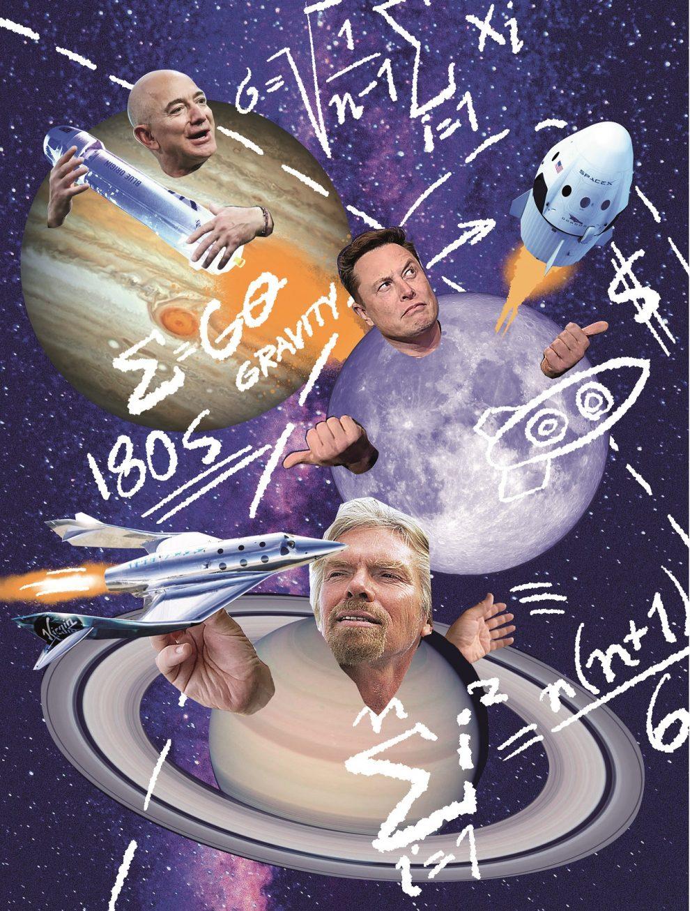 Vesmírný souboj miliardářů